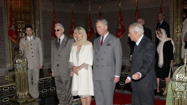 Camilla and Charles visited the Mausoleum of Mohammed V during their visit