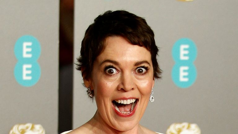 Olivia Colman won a BAFTA for best leading actress