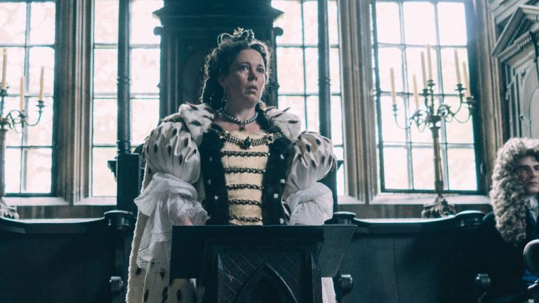 The Favourite has won the BAFTA for Best Film