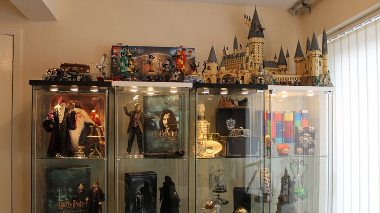 Just a few of Victoria's huge collection of memorabilia!
