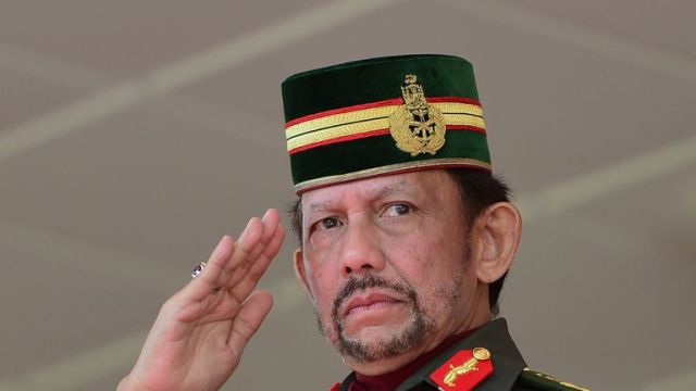 Sultan of Brunei Hassanal Bolkiah says sharia law will form 'part of the great history' of his country