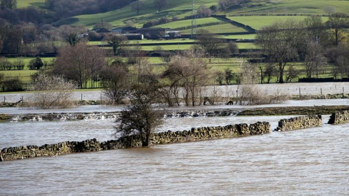 In Yorkshire, the flood has started