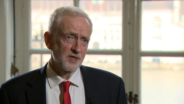 Labour leader Jeremy Corbyn has said the government has still not shifted its red lines on Brexit, as talks continue.