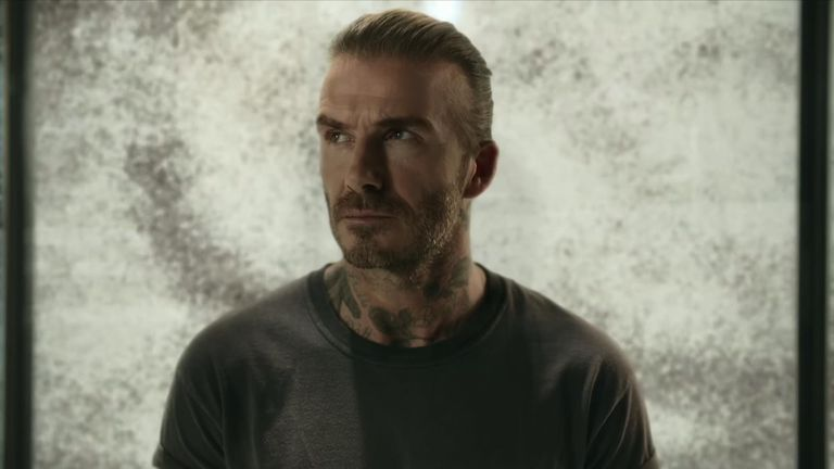 David Beckham has been working with the Malaria Must Die campaign