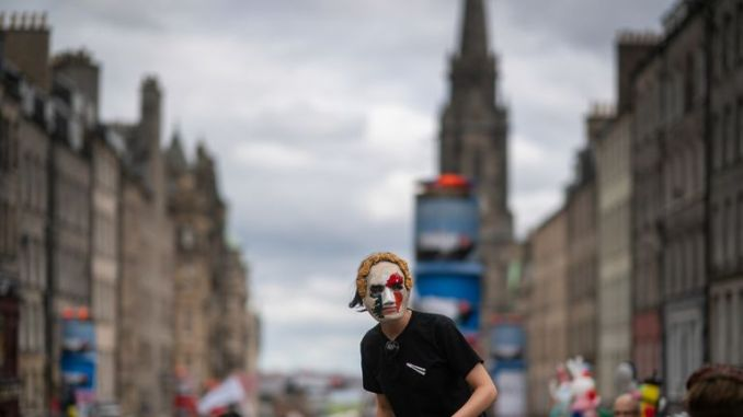 The Edinburgh festival draws millions of people every year