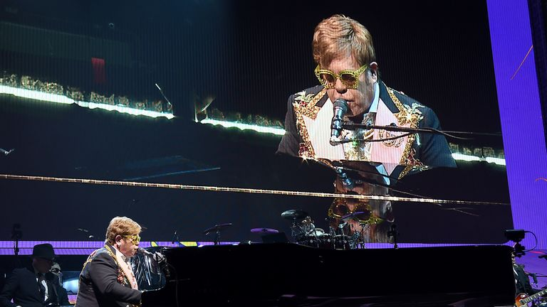 Sir Elton himself is a producer on Rocketman, which is more of a musical-biopic hybrid