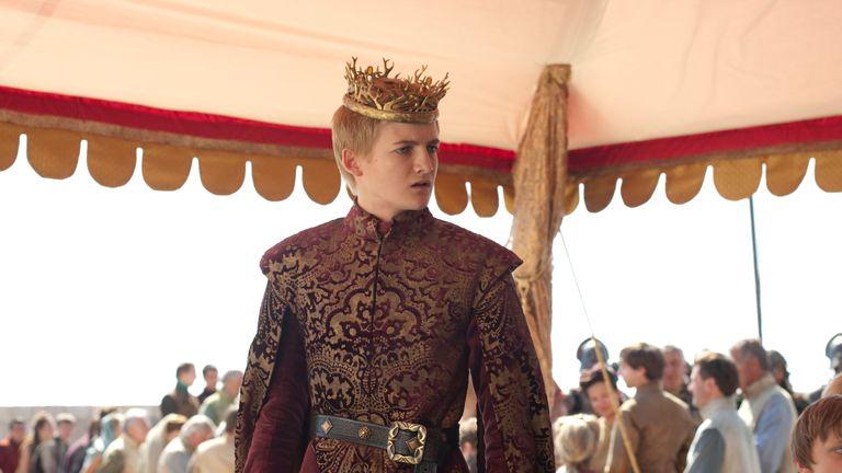 "..HBO's  ""Game of Thrones"" season 2....Tyrion-  Peter Dinklage..Sansa-  Sophie Turner..Joffrey-  Jack Gleeson..Bronn-  Jerome Flynn..The Hound-  Rory McCann..Meryn Trent-  Ian Beattie..Dontos-  Tony Way..Myrcella-  Aimee Richardson..Tommen-  Callum Wharry..Chella-  Natalia Lee..Melee Herald-  Mark Cindric"