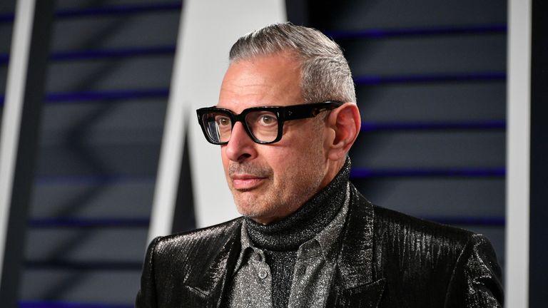 Jeff Goldblum had his belongings stolen from a hotel locker