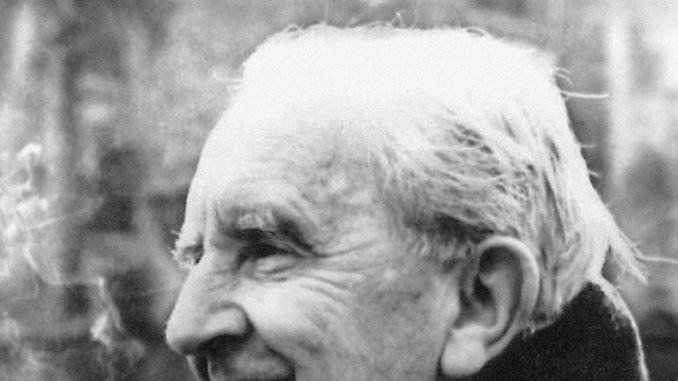 Hobbit and Lord Of The Rings author JRR Tolkien
