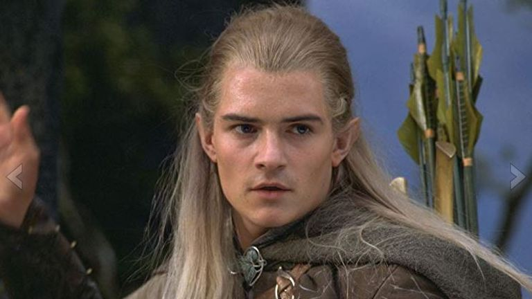 Orlando Bloom as Legolas in Lord of the Rings