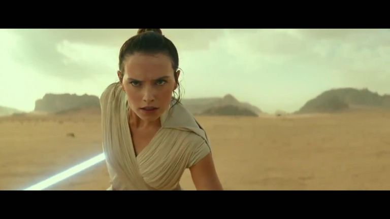 Every generation has a legend. Watch the brand-new teaser for Star Wars Episode IX.