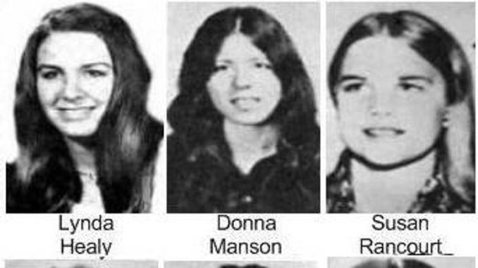Some of ted Bundy's confirmed victims