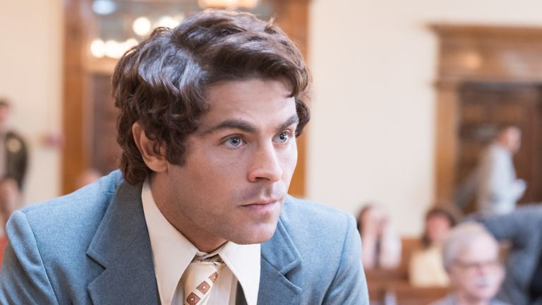 Zac Efron as Ted Bundy in Extremely Wicked, Shocking And Vile: © 2018 Wicked Nevada, LLC.