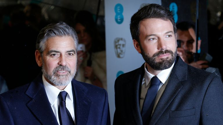 George Clooney and Ben Affleck worked together on the 2012 historical drama, Argo