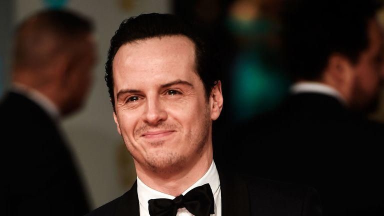 """Andrew Scott became a sex symbol after playing a """"hot priest"""" in hit TV show Fleabag"""