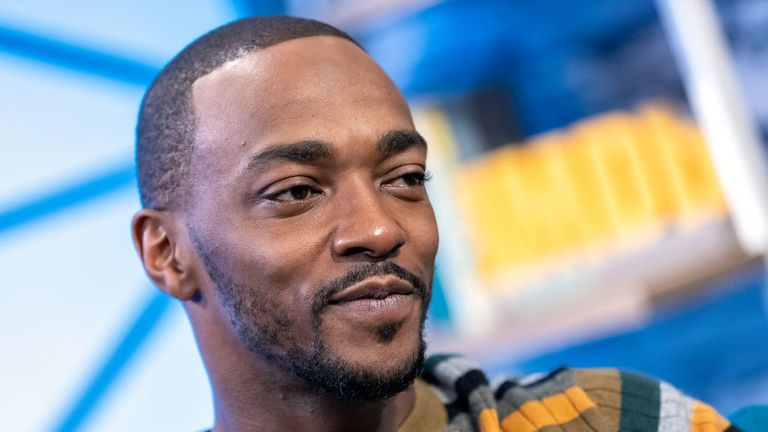 Avengers: Endgame star Anthony Mackie also features in the new series
