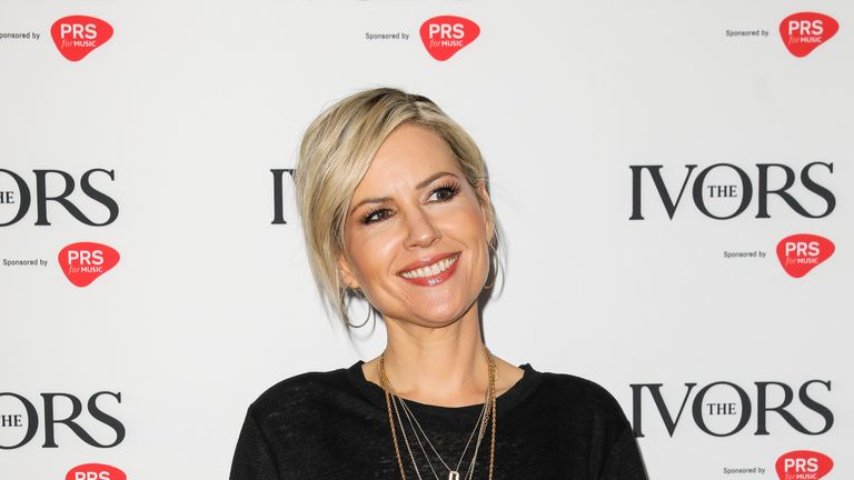 Dido won an award for outstanding song collection after announcing her comeback album earlier this year