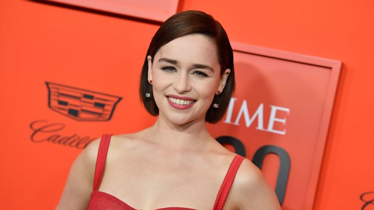 Game Of Thrones star Emilia Clarke, who plays Daenerys Targaryen