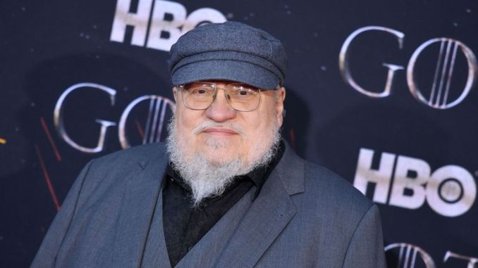Game Of Thrones author George RR Martin at the final season premiere in New York in April 2019