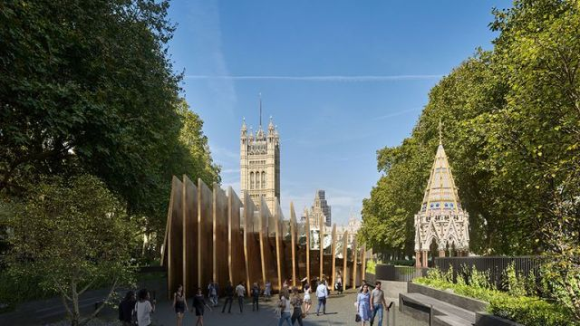 The design for the United Kingdom Holocaust Memorial
