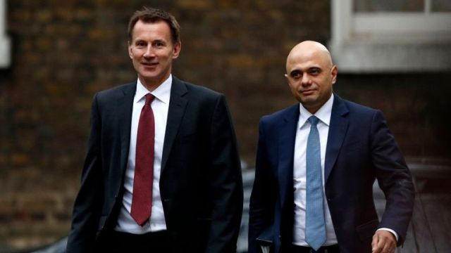 Jeremy Hunt and Sajid Javid have not ruled a no-deal Brexit