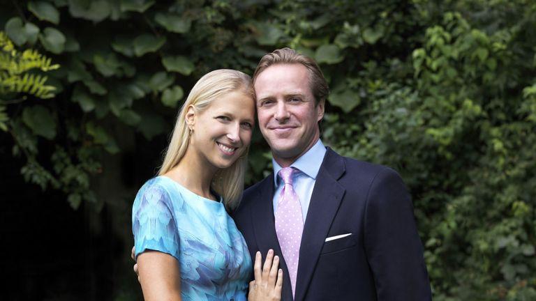 Lady Gabriella Windsor and fiance Thomas Kingston