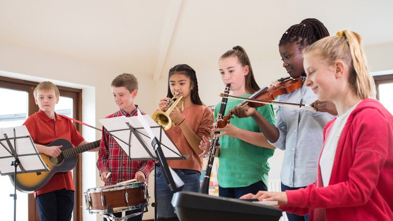 Music is mandatory for children between the ages of five and 14