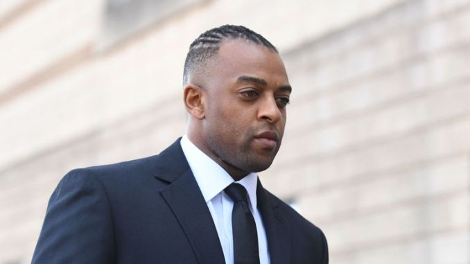 Former JLS star stepped out from his charity work after the allegation