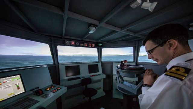 Submariners undergo training in Clyde, home of the UK's Trident nuclear deterrent