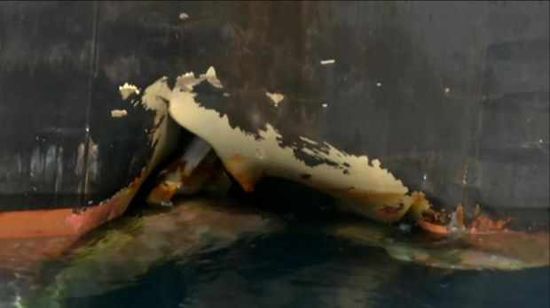 Sabotage attacks on tankers