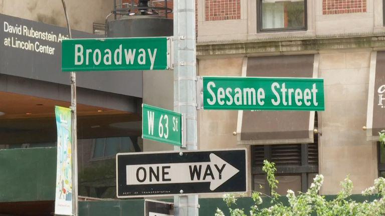 Sesame Street in New York