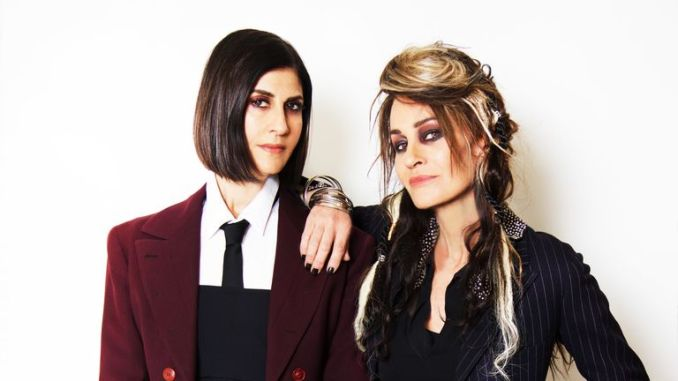 Shakespears Sister (L-R: Marcella Detroit and Siobhan Fahey) announce reunion after 26 years