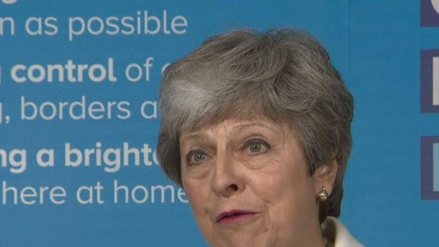 Theresa May cites Labour's unwillingness to find a 'common position' on Brexit as the reason for the breakdown of cross-party talks