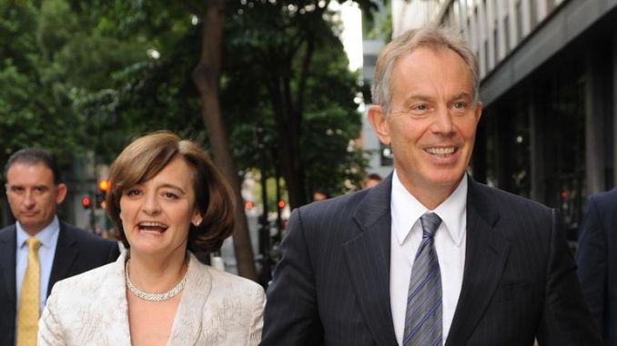 Cherie Blair's foundation has worked in Israel and Palestine and Tony Blair was a Middle East envoy