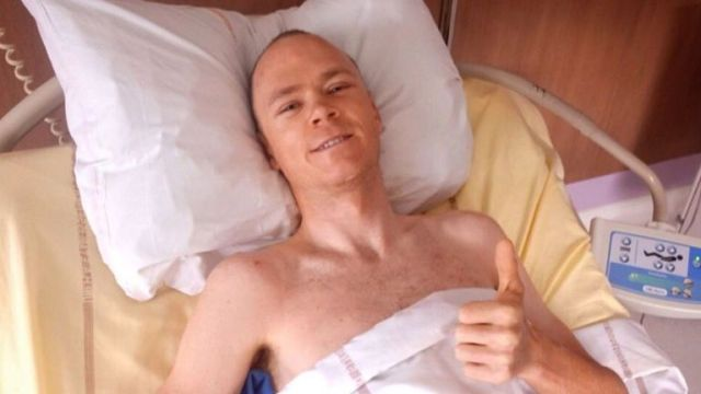 Chris Froome has thanked the cycling community for its support since the crash