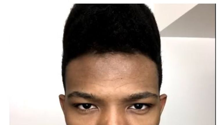 Etika, real name Desmond Amofah, was reported missing. Pic: @NYPDnews