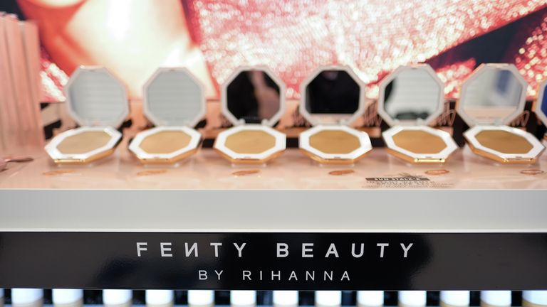 Fenty Beauty made about £78m in its first 40 days since launching