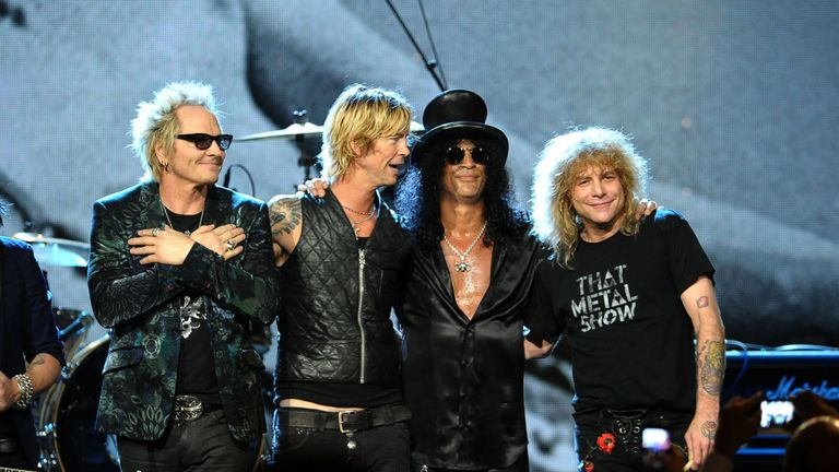 The band was inducted into the Rock and Roll Hall of Fame in 2012