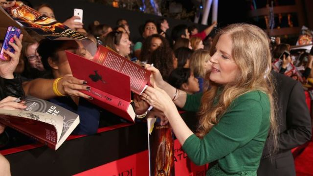 Author Suzanne Collins won millions of fans thanks to the popular trilogy