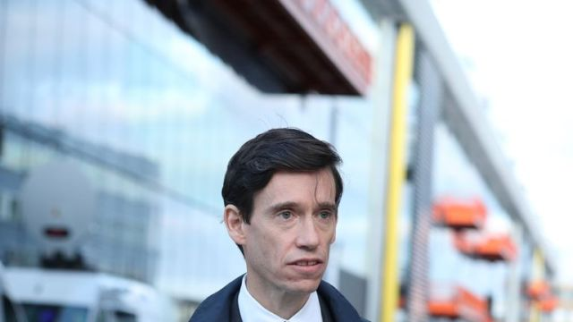 Conservative party leadership contender Rory Stewart