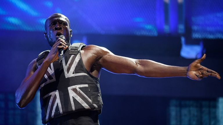 Stormzy tweeted that he was 'Absolutely f****** speechless' after Banksy revealed he made his vest
