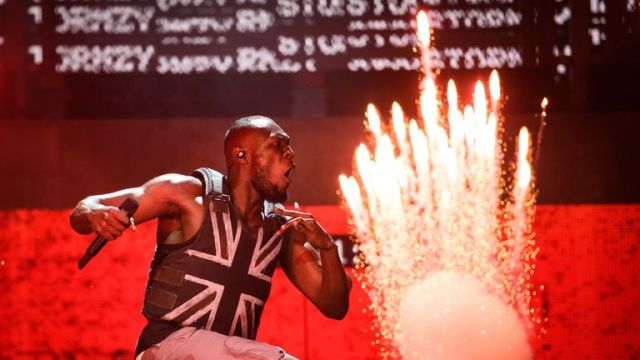 Stormzy at Glastonbury