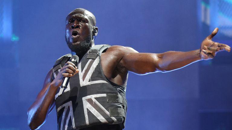 Stormzy has become the first black British artist to headline Glastonbury