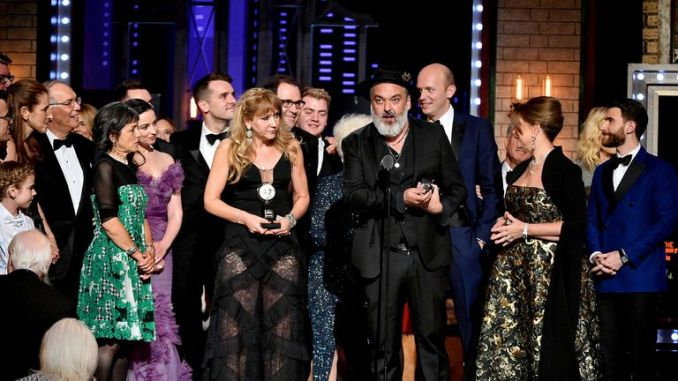 The Ferryman was named best play at the Tony Awards