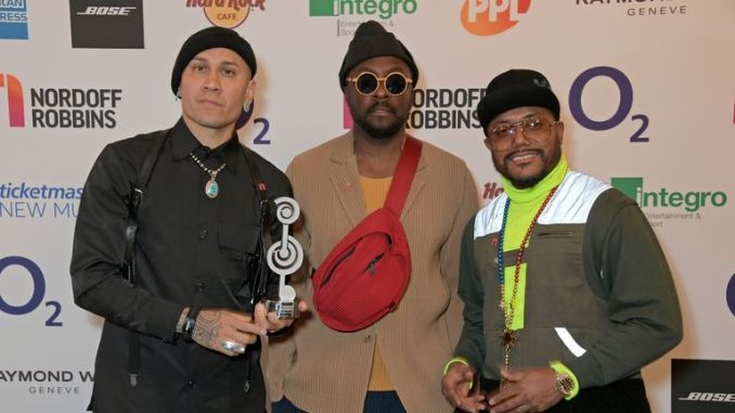 Black Eyed Peas at the Silver Clef Awards