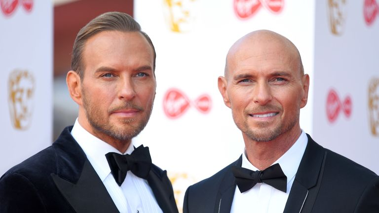 Bros - Matt and Luke Goss
