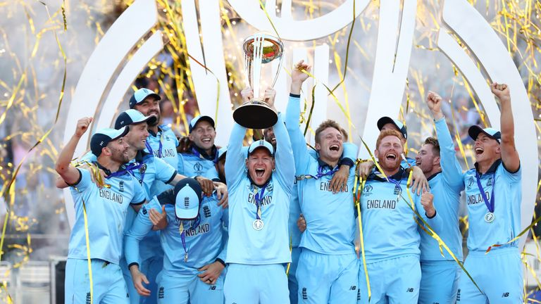 England have won the Cricket World Cup for the first time