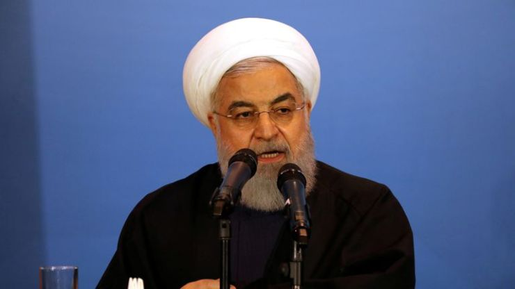 Iran's President,Hassan Rouhani, says it will take next step in increasing uranium enrichment on Sunday