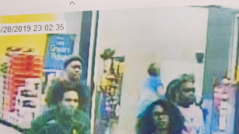 Police also want to trace the man in the green top