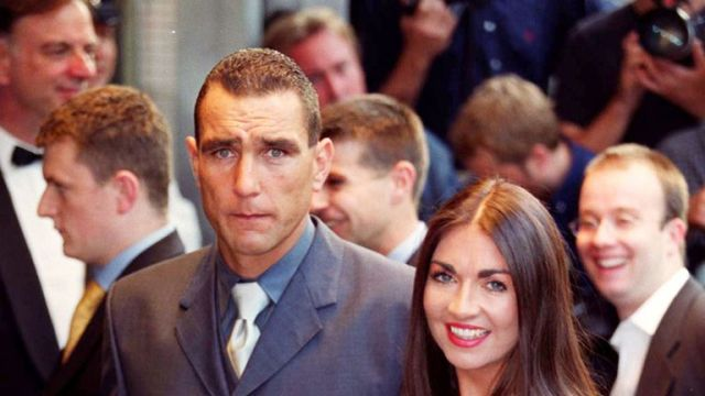 Vinnie Jones and his wife Tanya at the Trooping the Colour Parade in 2009
